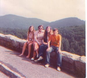 Vacay in the Appalachians mountains, circa 1975
